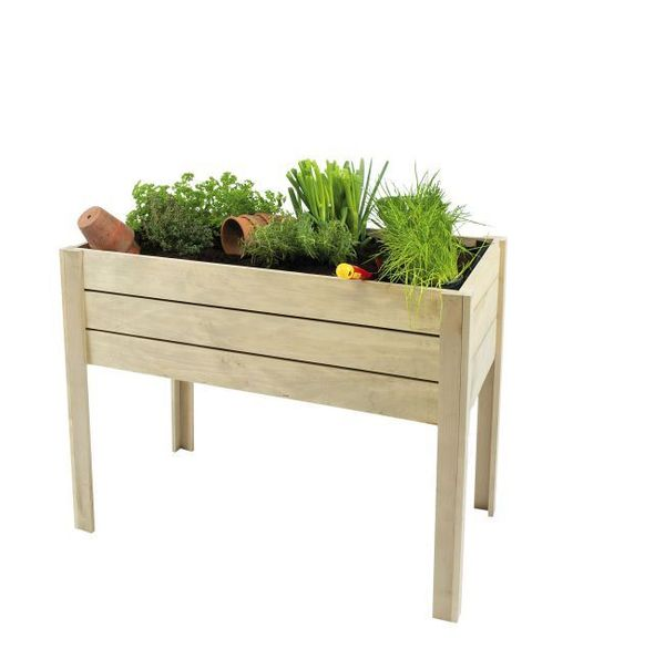 Hillhout Minigarden - mini table de culture